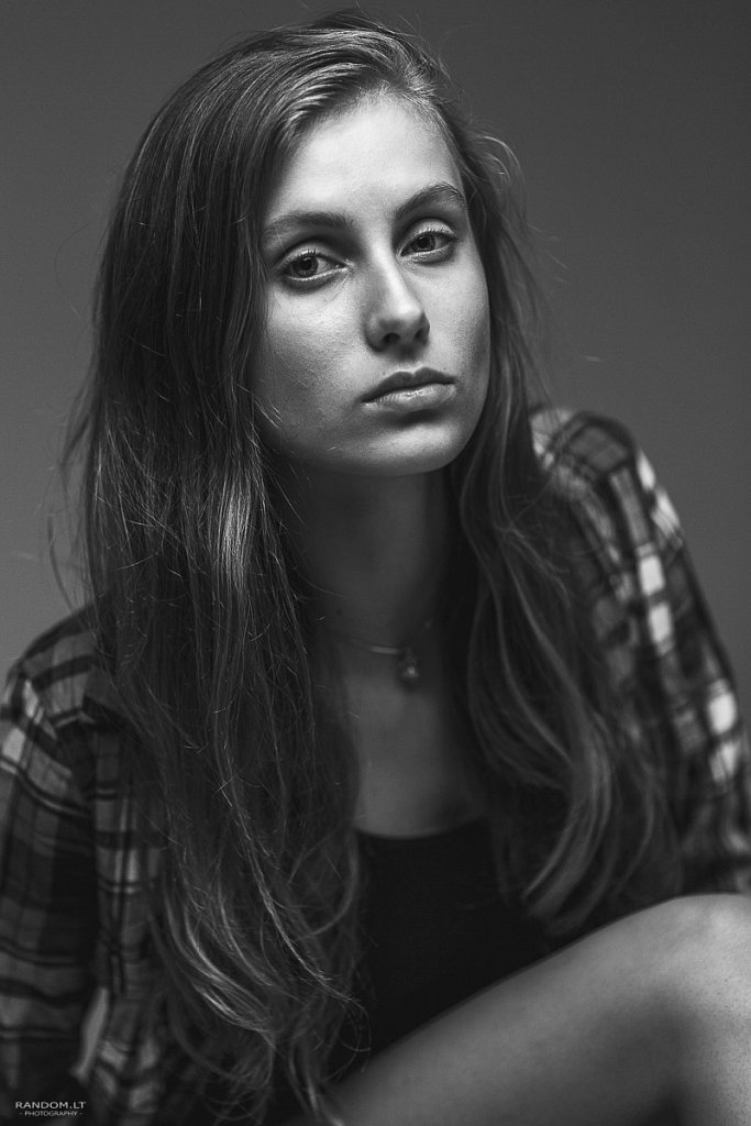 Ema ema model test  2015  asmeninė fotosesija  model test  studija  by RANDOM.LT